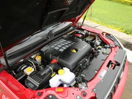 the heart of the car - the mHawk engine!